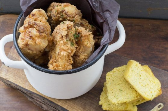 The Drake Cafe's Southern Fried Chicken