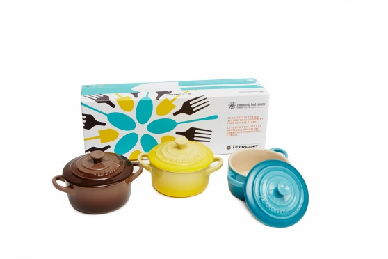 The limited edition Mini Cocotte Gift Set, offered at a special price of $79.99 (value $120)