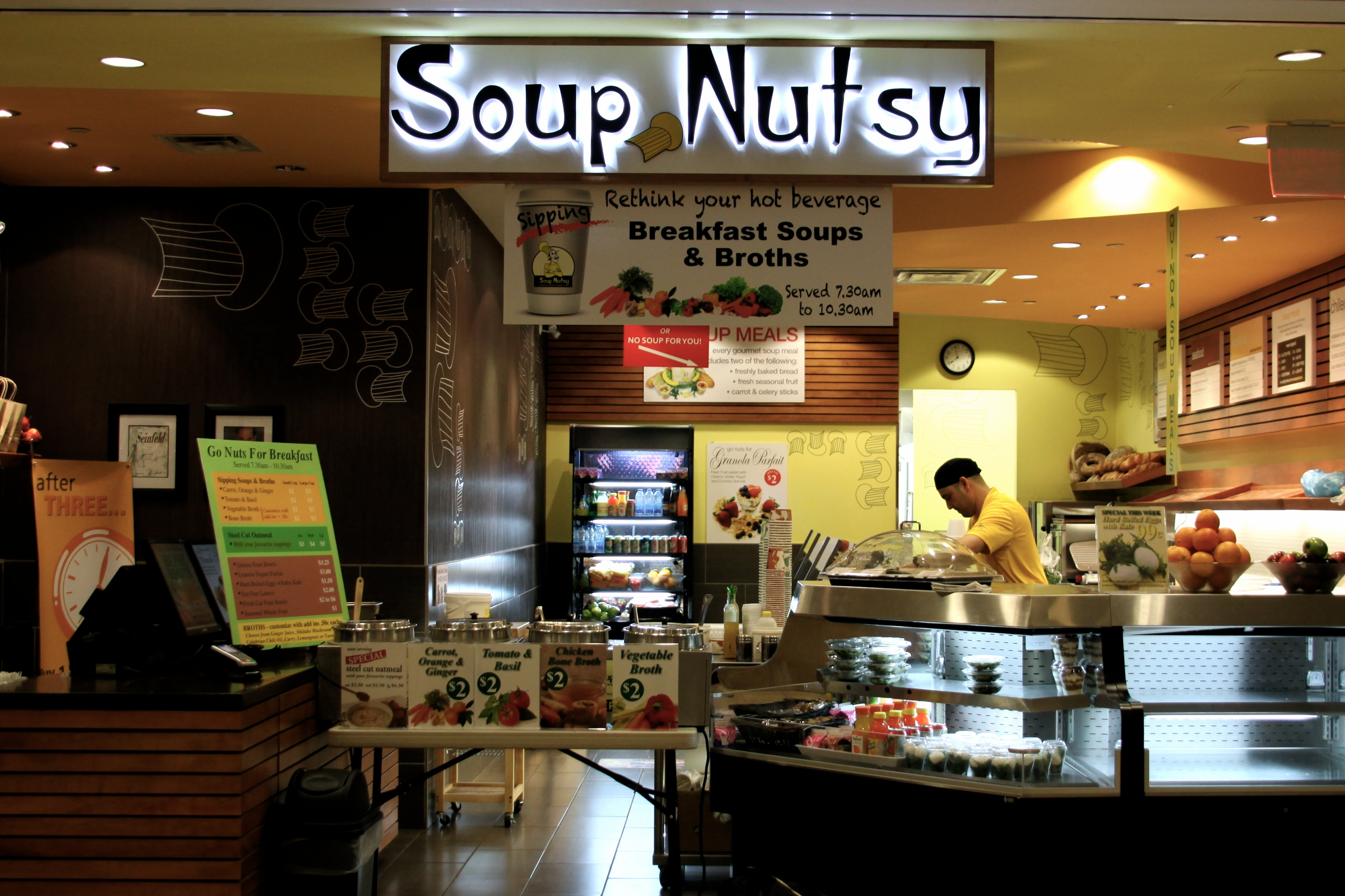 Wendy S Fast Food Soup